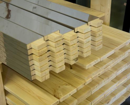 Standard wooden door details